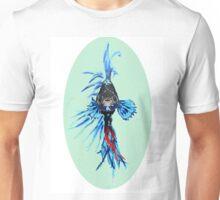 Blue betta Unisex T-Shirt