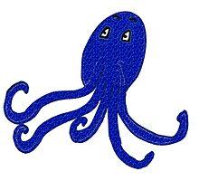 Surprised Octopus  by Gemma Ramji
