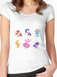 Hearts n Hooves Women's Fitted Scoop T-Shirt