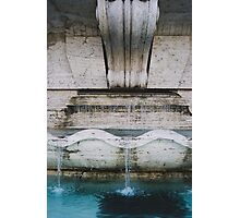 Bright Blue Water Photographic Print