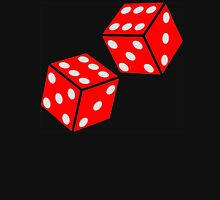 LUCKY, DOUBLE SIX, DICE, RED DICE, Throw the Dice, Casino, Game, Gamble, CRAPS Unisex T-Shirt