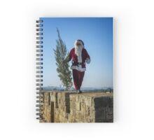 Santa Claus Jerusalem Spiral Notebook