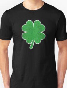 Vintage Four Leaf Clover  T-Shirt