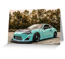 scion fr-s Greeting Card