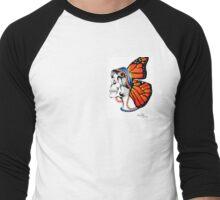 butterfly - skull Men's Baseball ¾ T-Shirt