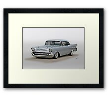1957 Chevrolet Bel Air Hardtop Framed Print