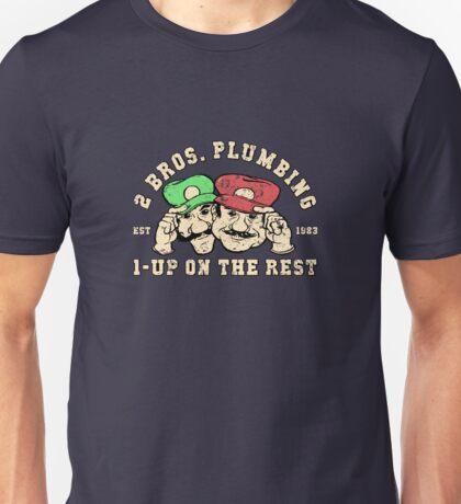 2 Bros Plumbing Unisex T-Shirt