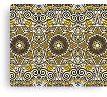 Indian Mhendi Pattern Canvas Print