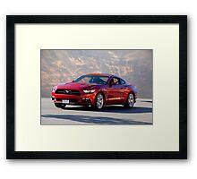 2015 Ford Mustang 5.0 Framed Print