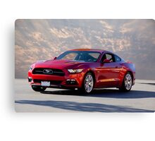 2015 Ford Mustang 5.0 Canvas Print