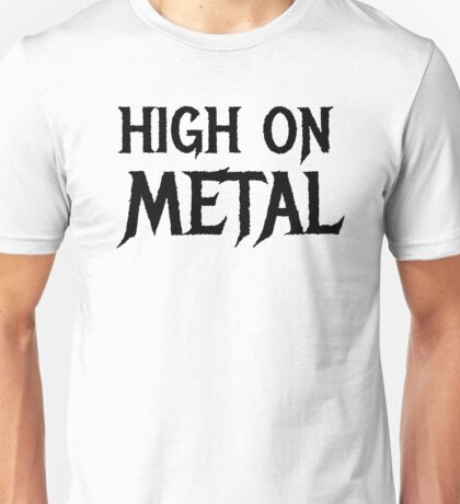 Death Metal Hard Rock Music  Unisex T-Shirt