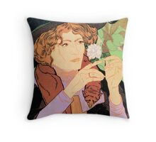 Salon des cent Art nouveau expo Paris 1894 Throw Pillow