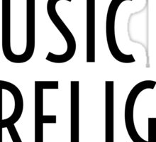 Music Party Bass Techno Sticker