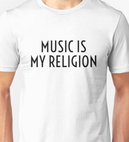 Music Party Bass Techno Unisex T-Shirt