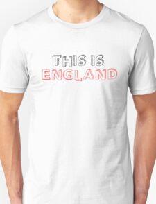 Football Soccer Fan England T-Shirt