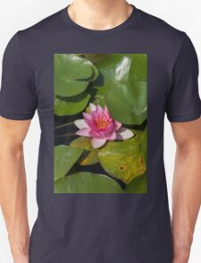 waterlily in the lake Unisex T-Shirt
