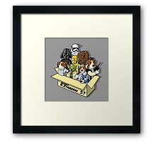 Adopt a Stardog Framed Print