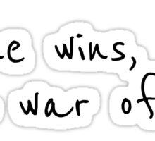 Rock Music Inspirational Lyrics Neil Young Sticker