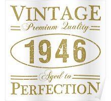 Born In 1946 Gag Gift Poster