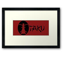 Otaku Death the Kid, Liz and Patty Thompson - Soul Eater Framed Print