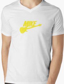 Mike (Yellow) Mens V-Neck T-Shirt
