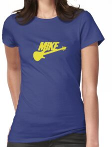 Mike (Yellow) Womens Fitted T-Shirt