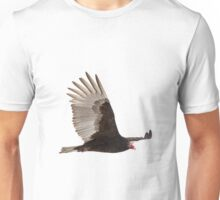 Isolated Turkey Vulture 2014-1 Unisex T-Shirt