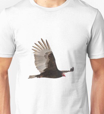 Isolated Turkey Vulture 2014-1 Unisex T-Shirt