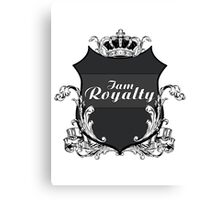 I am Royalty Canvas Print
