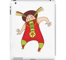 Dancing man iPad Case/Skin