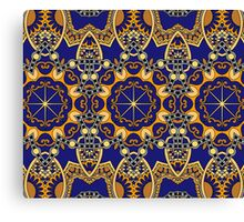 Royal Abstract Pattern Canvas Print
