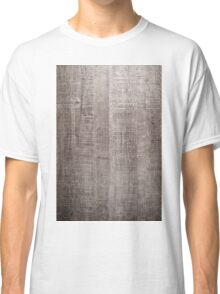 Wood texture background  Classic T-Shirt