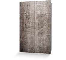 Wood texture background  Greeting Card