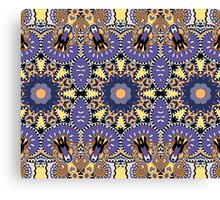 Royal Indian Pattern Canvas Print