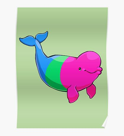 Polysexuwhale - no text Poster