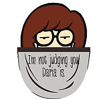 Pocket full of sarcasm (Daria) Photographic Print