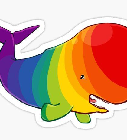 Homosexuwhale - no text Sticker
