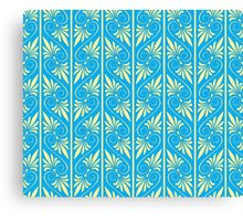 Royal Stripe Pattern Canvas Print