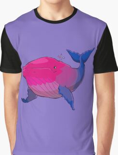 Bisexuwhale - no text Graphic T-Shirt