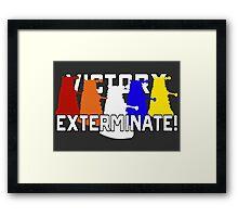 Victory of the Daleks Framed Print