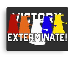 Victory of the Daleks Canvas Print
