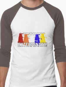 Victory of the Daleks Men's Baseball ¾ T-Shirt