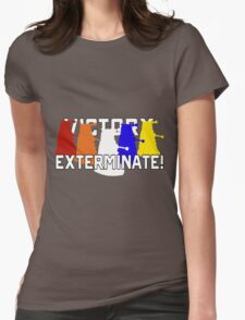 Victory of the Daleks Womens Fitted T-Shirt