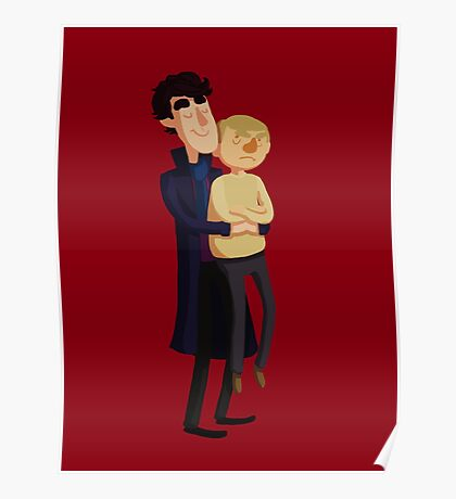 Put me down, Sherlock Poster