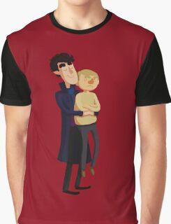 Put me down, Sherlock Graphic T-Shirt
