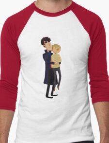 Put me down, Sherlock Men's Baseball ¾ T-Shirt
