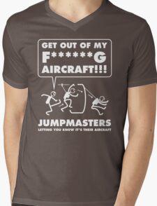 JUMPMASTERS Mens V-Neck T-Shirt