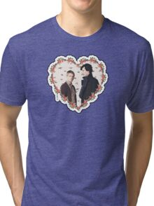 HEARTED JOHNLOCK Tri-blend T-Shirt