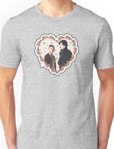 HEARTED JOHNLOCK Unisex T-Shirt
