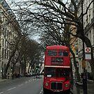 Doppeldecker Bus in January by Christine  Wilson